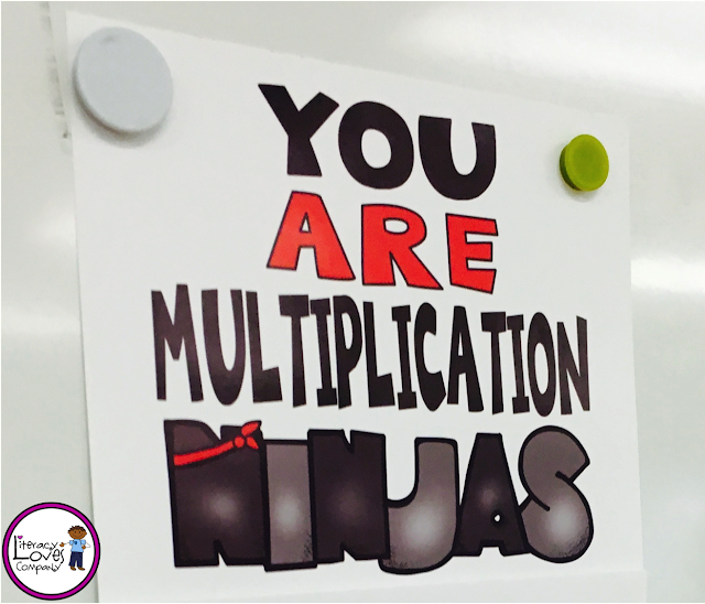 Make learning multiplication facts fun for your students with this classroom motivation tool that turns learning times tables into a game!