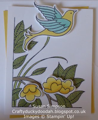 Craftyduckydoodah!, Serene Garden, Dragonfly Dreams, June 2018 Coffee & Cards Project, Supplies available 24/7 from my online store, Stampin Up! UK Independent  Demonsrator Susan Simpson, #stampinupuk,