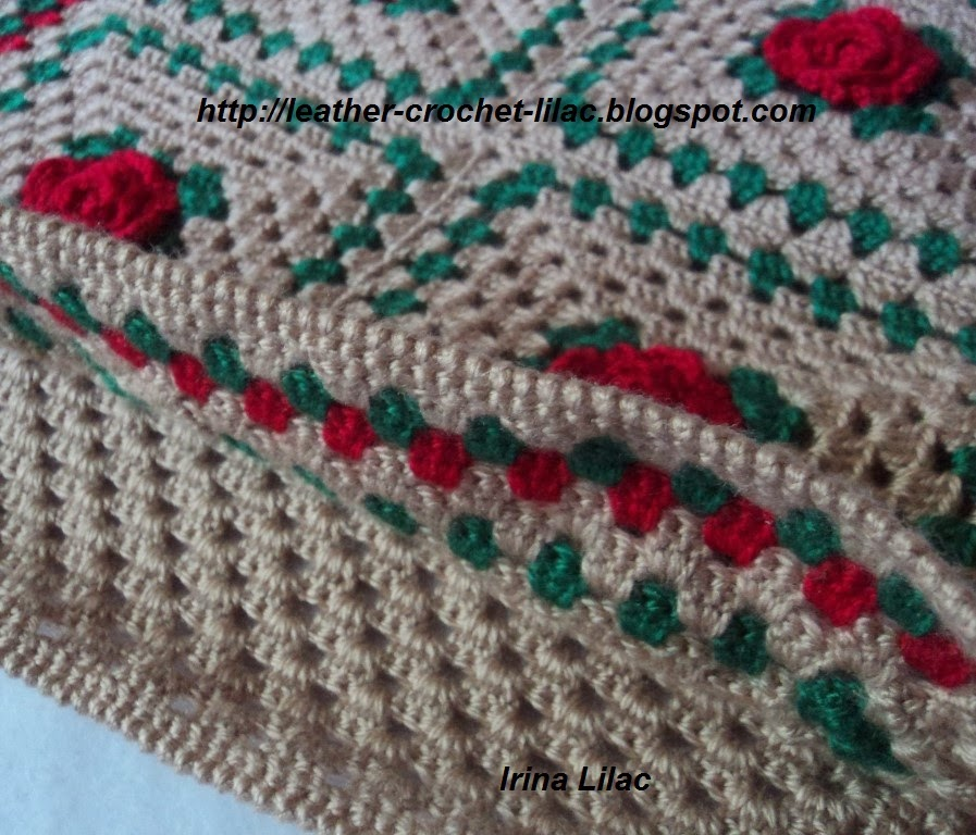 Crochet And Knitting From Irina Lilac: Crochet Home Decor