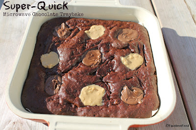 Super-Quick Microwave Chocolate Traybake