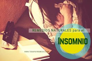 Remedios caseros para tratar el insomnio