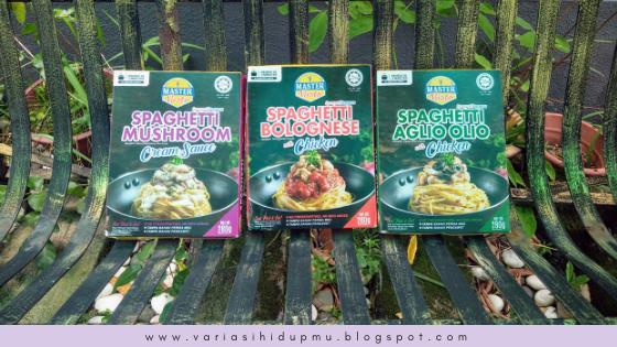 Master Pasto Instant Spaghetti Halal Food