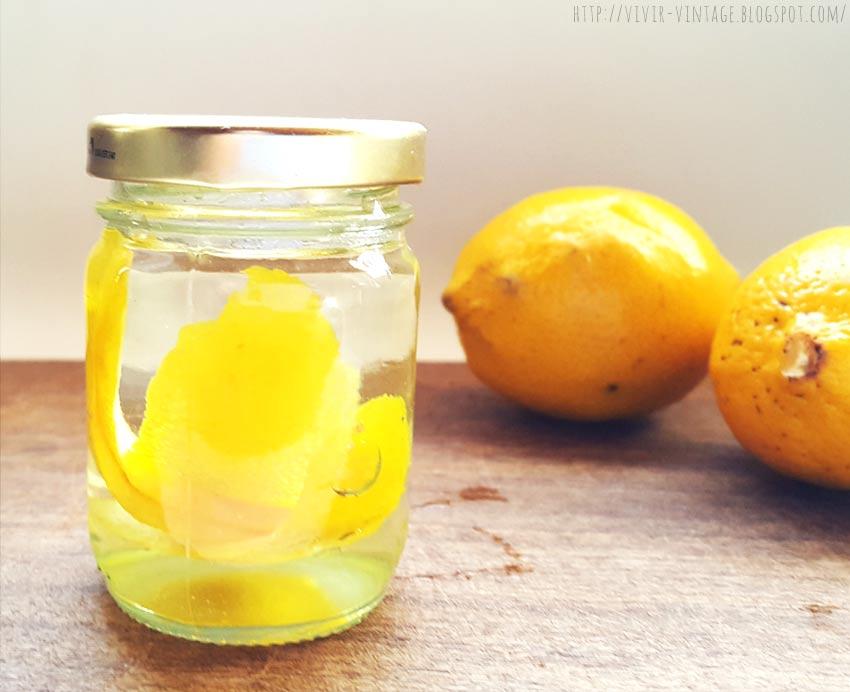 extracto limon casero