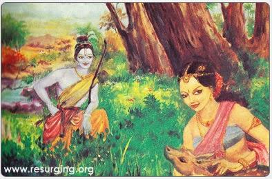 Lord Srinivasa Meets Padmavati