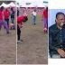 Jay Jay Okocha challenges Kanu Nwankwo in ball juggling; See who won the challenge