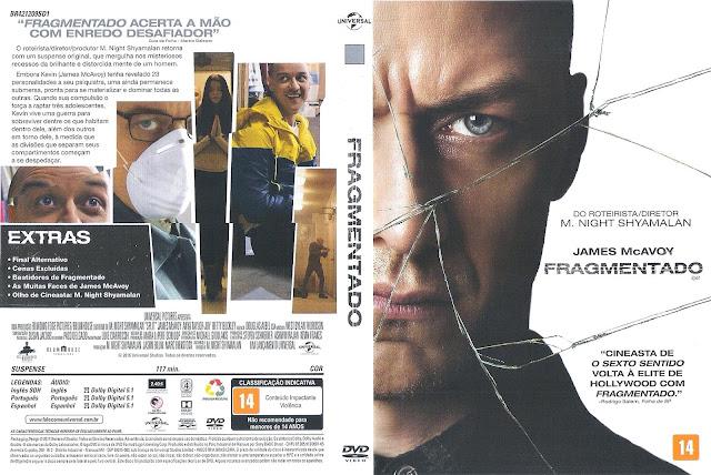 Capa DVD Fragmentado (Oficial *)