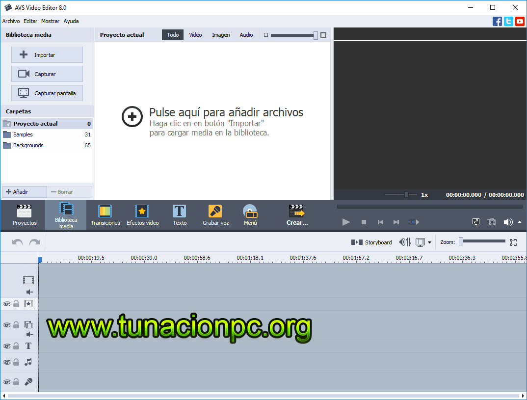 AVS Video Editor Multilenguaje