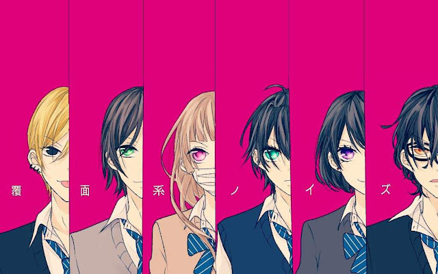Fukumenkei Noise di Rekomendasi Anime Romance - Shoujo terbaik