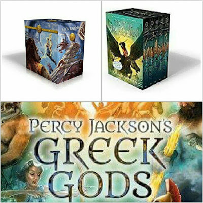 Percy Jackson's Greek adventures Rick Riordan Box Sets
