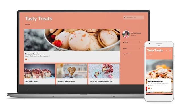 emporio blogger template