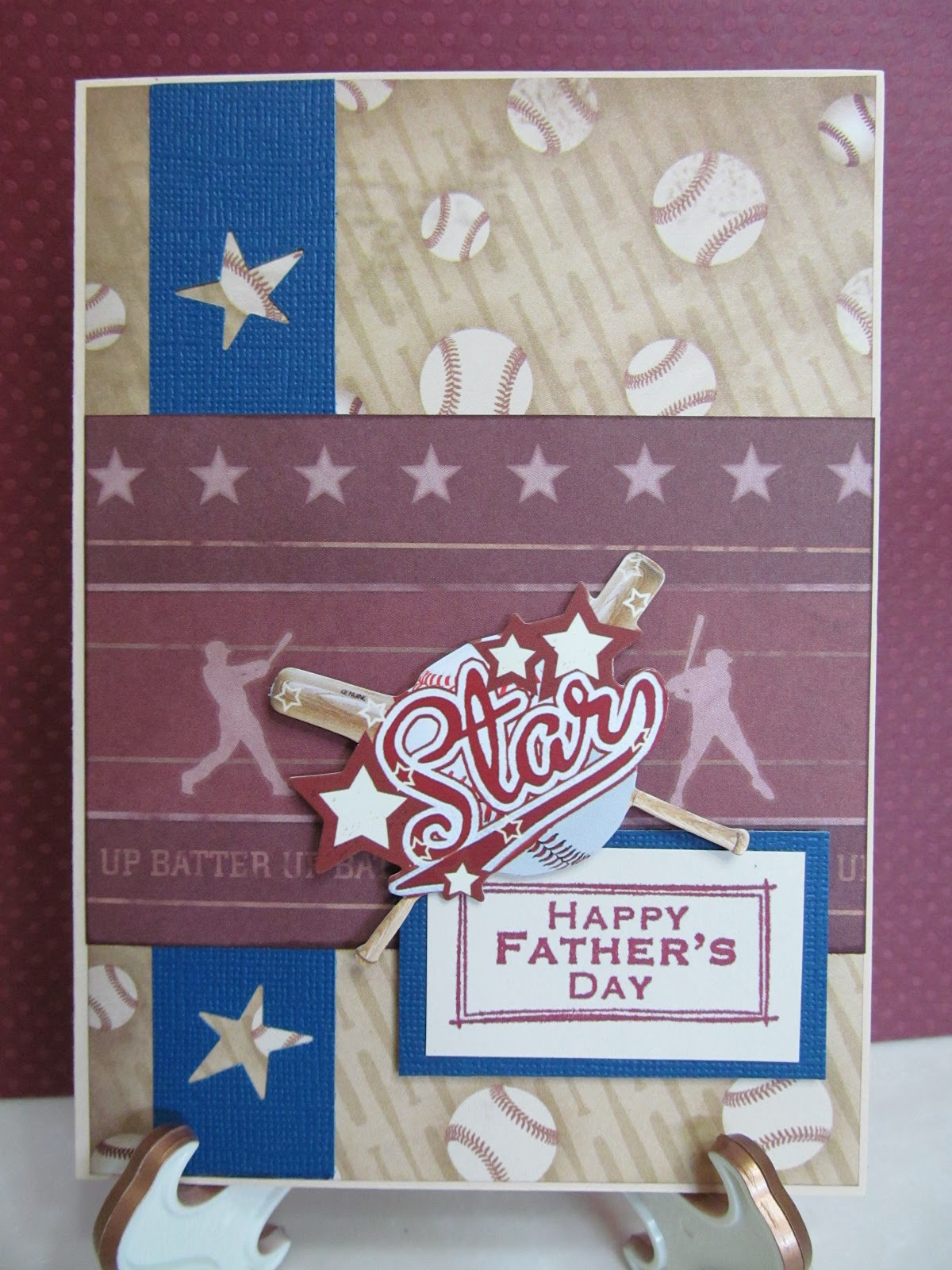 handmade fathers day cards from savvy handmade cards baseball s day card 1151