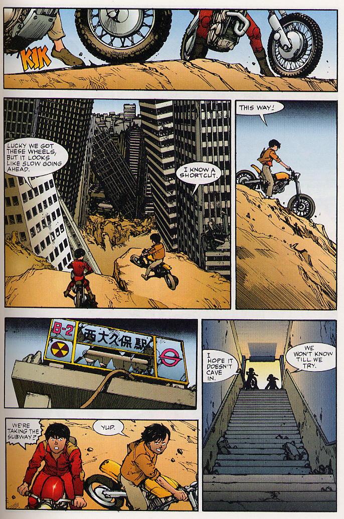 Read online Akira comic -  Issue #25 - 28