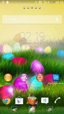 XPERIA Easter Theme