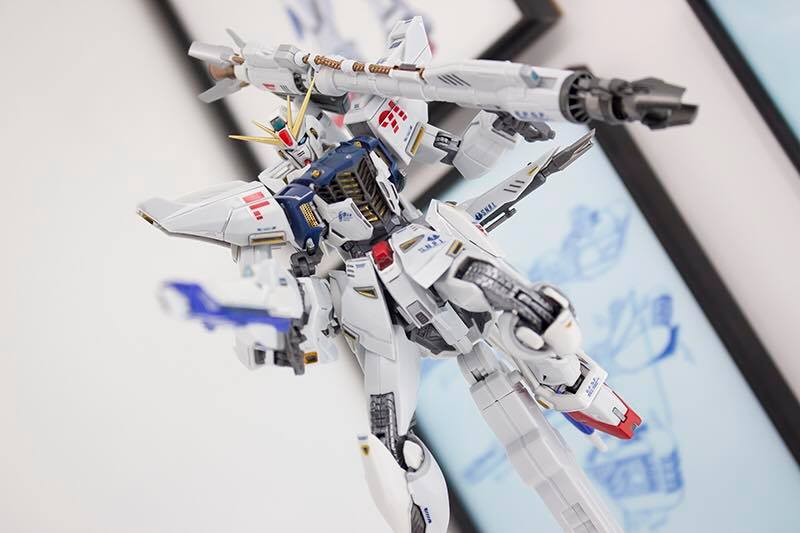 Metal Build: 1/100 Gundam F91 Exhibited at Tamashii Nation 2016