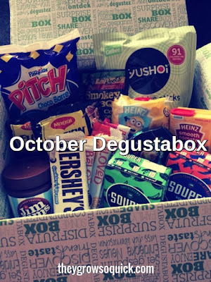 October Degustabox review and discounts