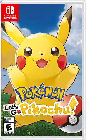 Pokemon Let's Go, Pikachu