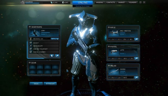 Download WarFrame Game PC Gratis Full Version