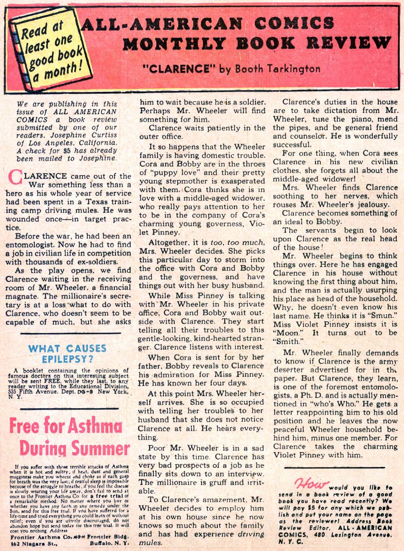 Read online All-American Comics (1939) comic -  Issue #30 - 46