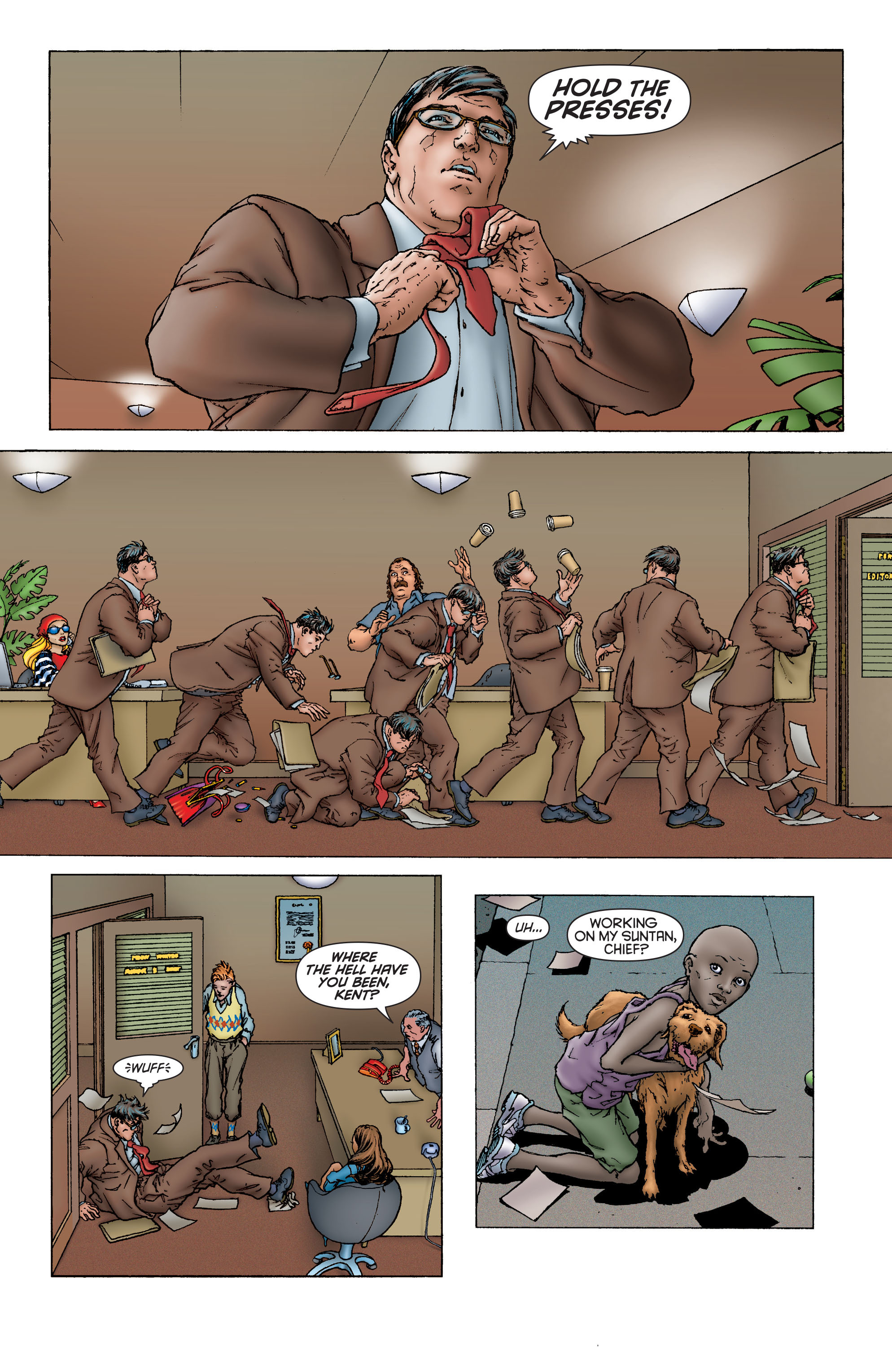 Read online All Star Superman comic -  Issue #1 - 19