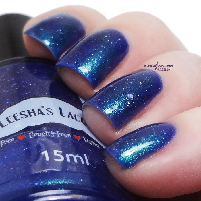 xoxoJen's swatch of Leesha's Lacquer: Nebula