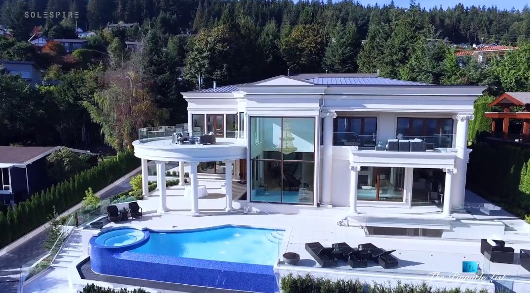 33 Interior Design Photos vs. 795 Andover Crescent, West Vancouver Luxury Mansion Tour