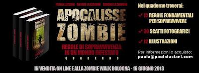 Zombie Walk Bologna e il Quaderno di Sopravvivenza