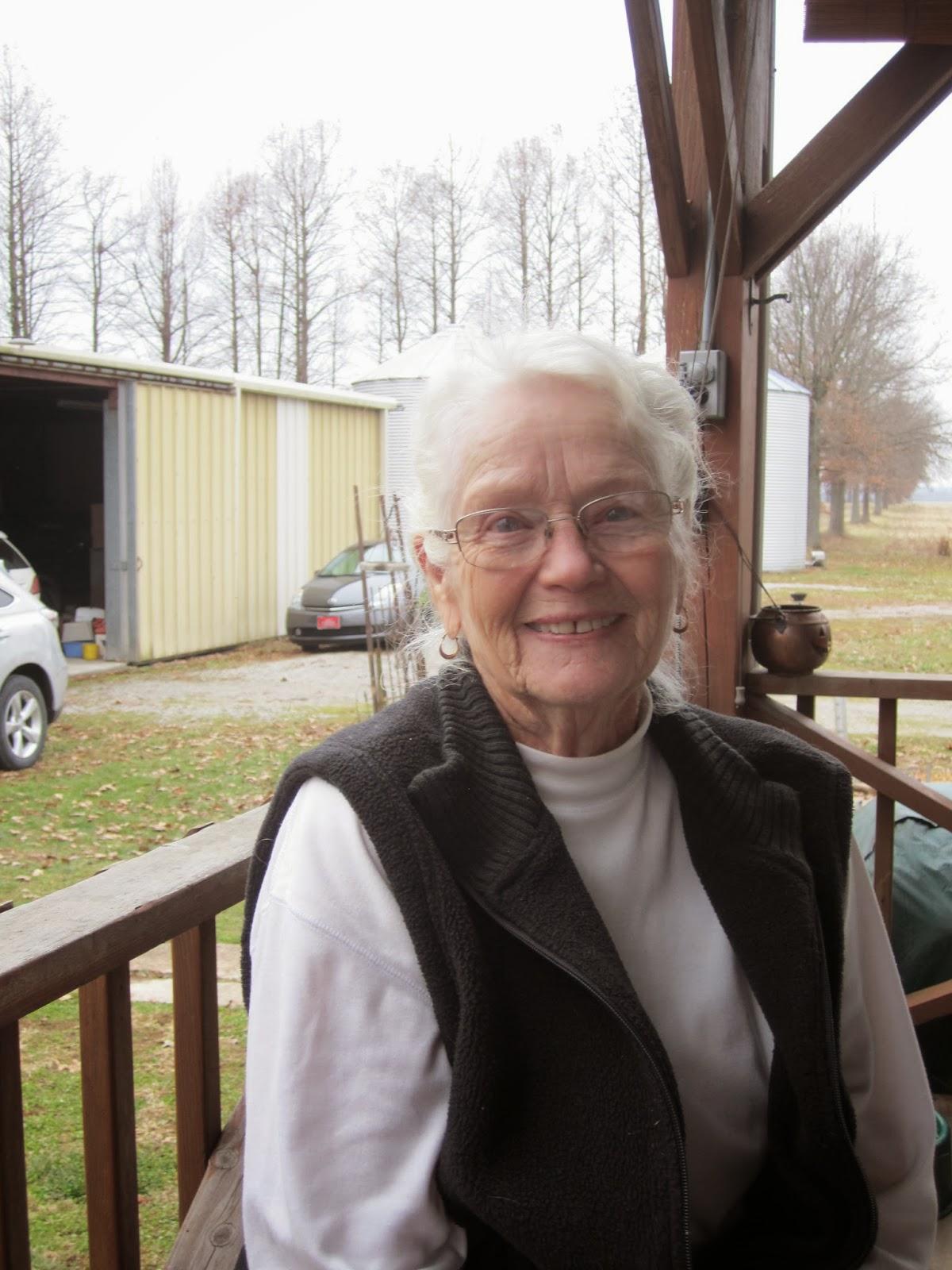 woman smiling, farm, illinois
