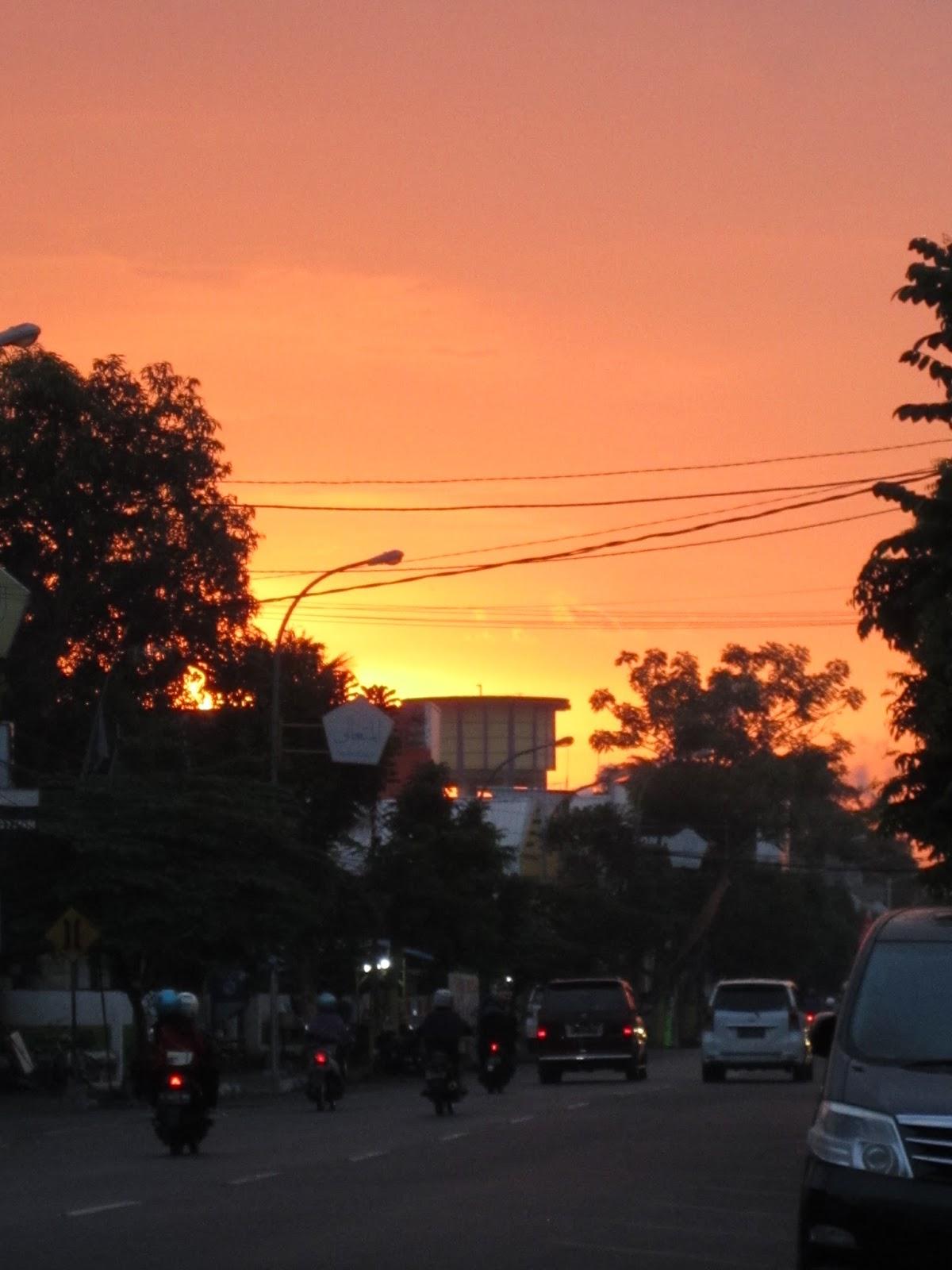 jombang city guide Senja Jingga di Pusat Kota