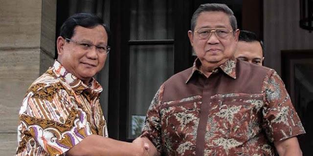 Prabowo: Saya Tak Pernah Ragukan Komitmen SBY
