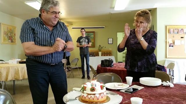 Bot László születésnapját ünnepeltük
