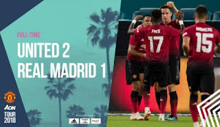 Manchester United vs Real Madrid 2-1 Video Gol Highlights - ICC 2018