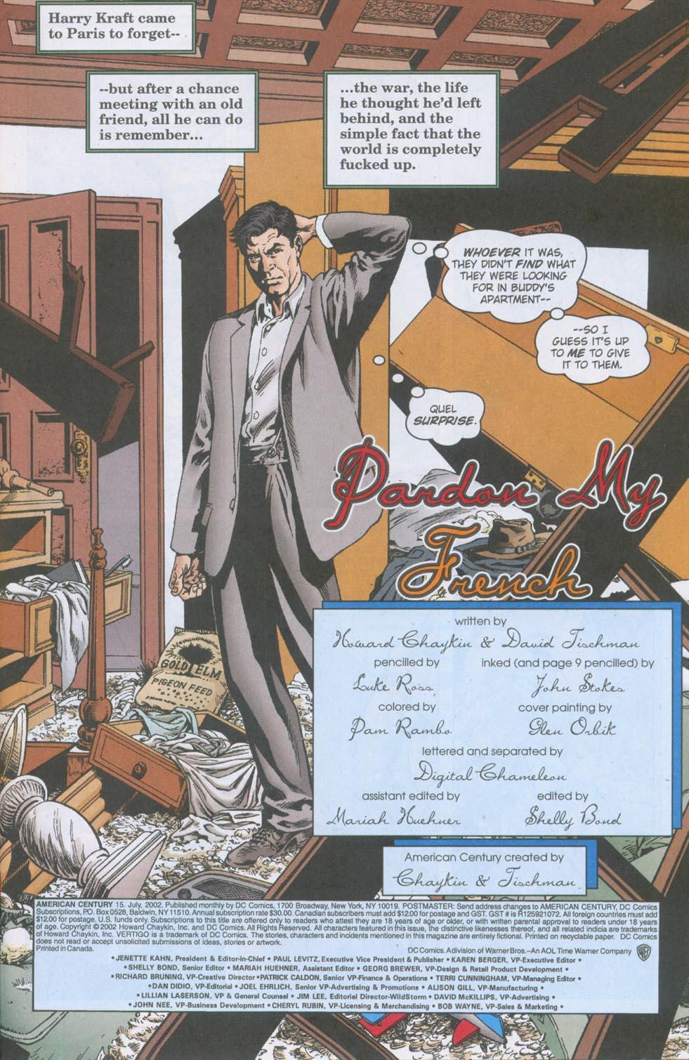 Read online American Century comic -  Issue #15 - 2