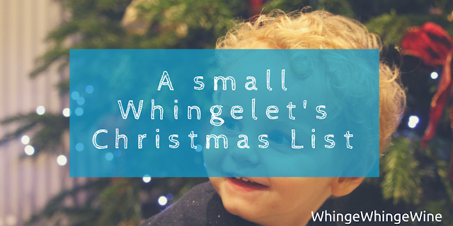 A small Whingelet's Christmas list with Wicked Uncle: Present inspiration for an 18 month old toddler