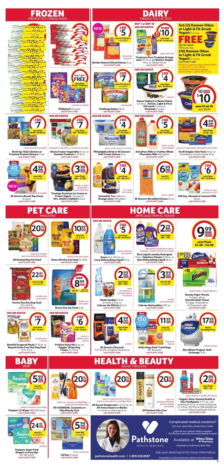 Winn Dixie Weekly Ad May 9 15 2018 Daily Saving Deals