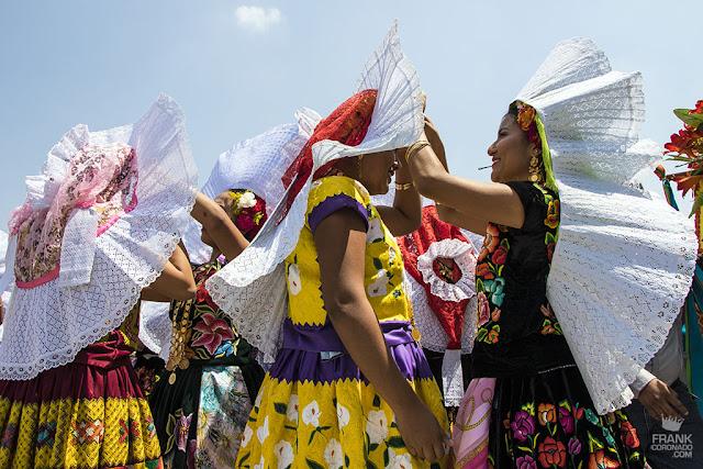 traje tipico de mujeres tehuanas