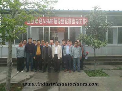 ASME U Certificate For Autoclave Pressure Vessel