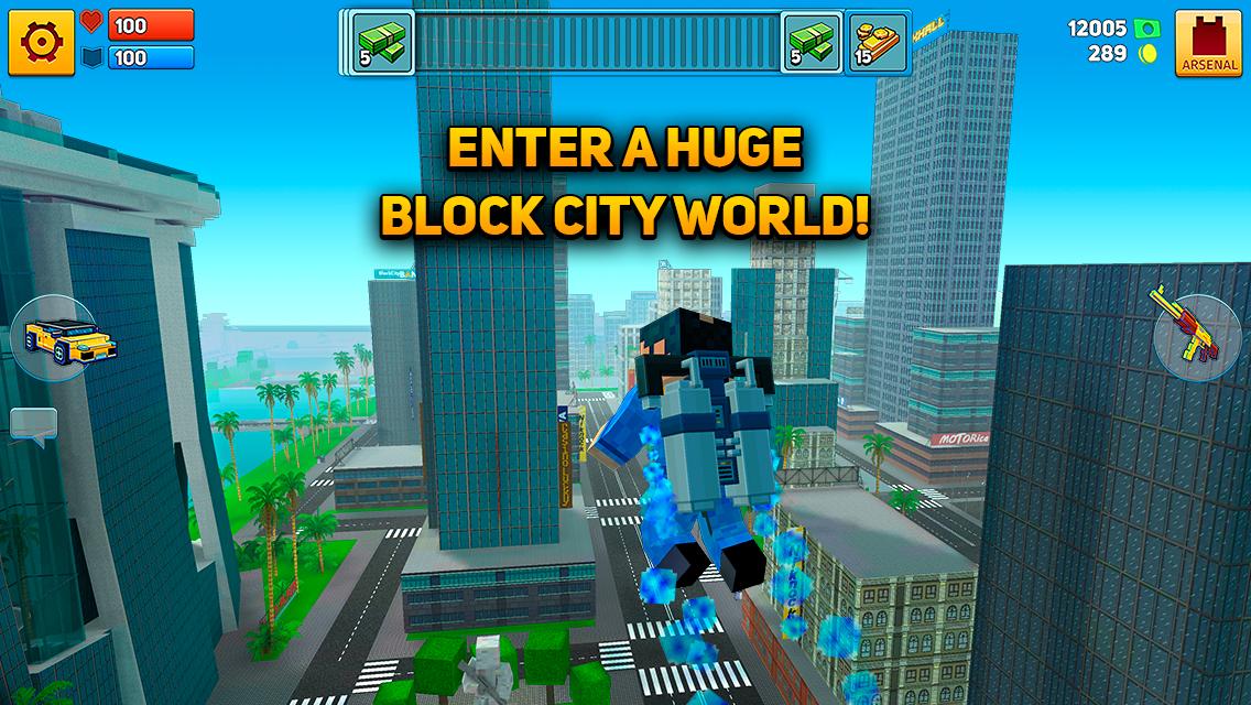 Block City Wars skins export MOD APK