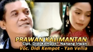 Lirik Lagu Prawan Kalimantan - Didi Kempot