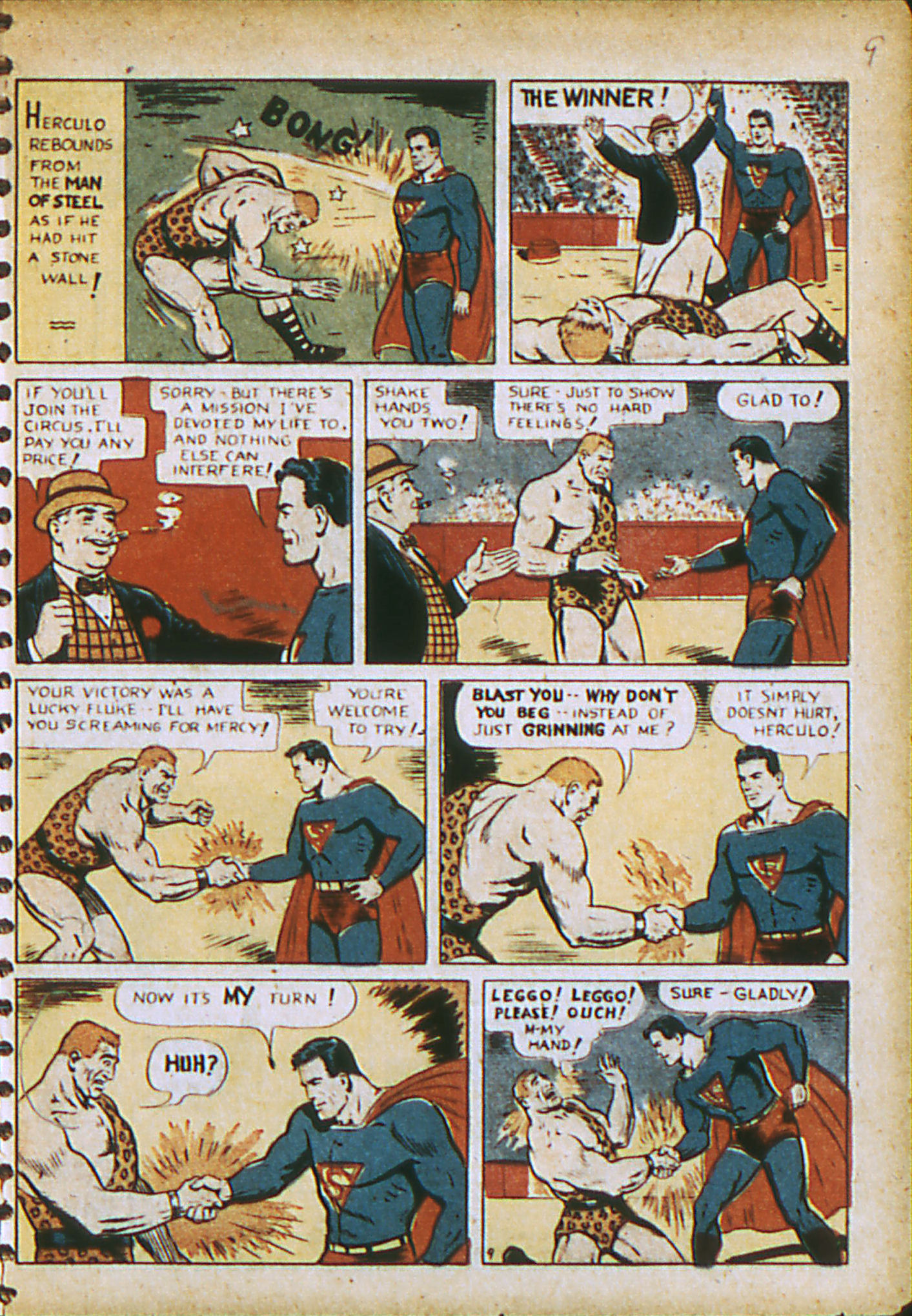 Read online Action Comics (1938) comic -  Issue #28 - 12