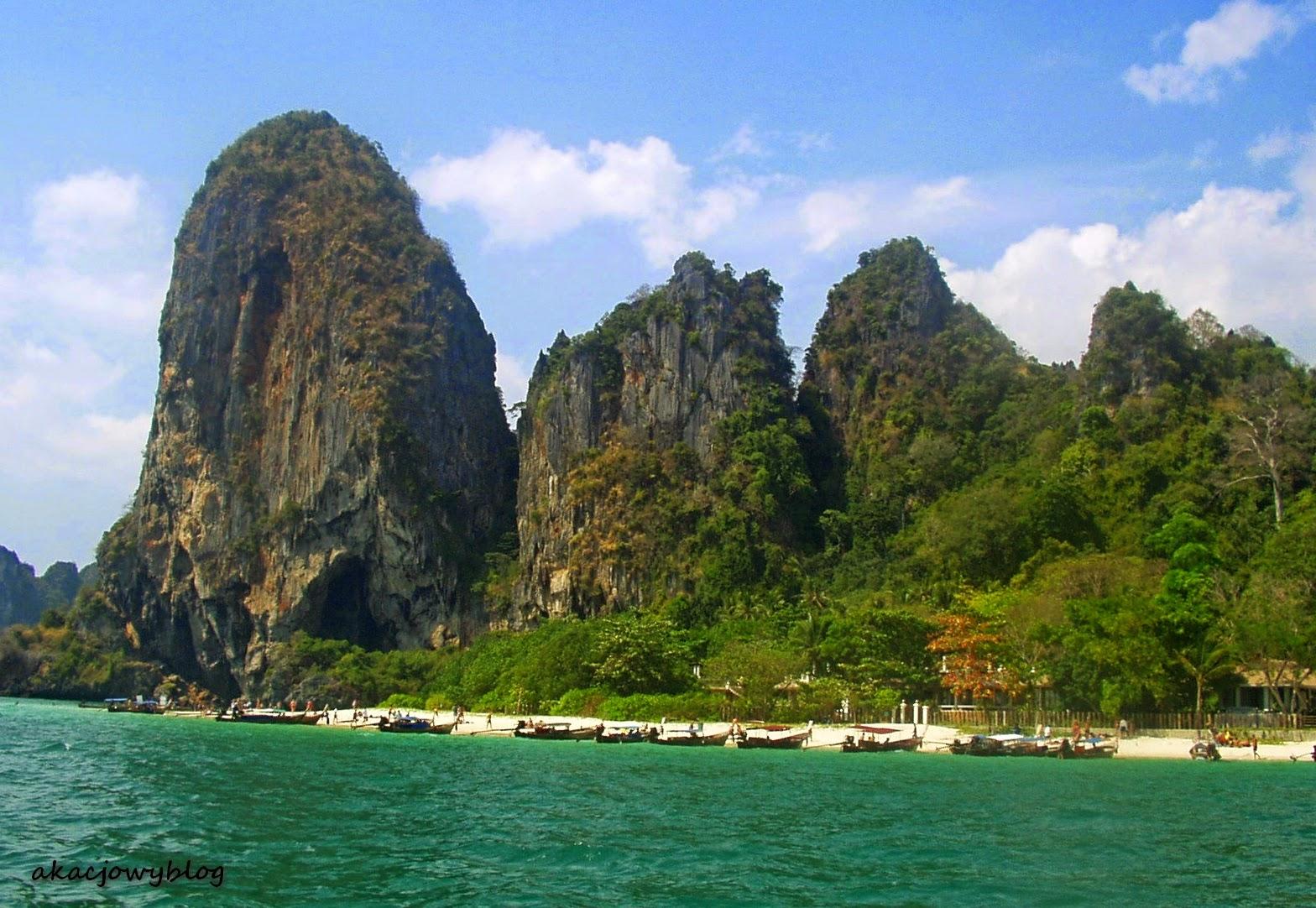 Tajlandia - południowe krajobrazy Wybrzeża Andamańskiego.