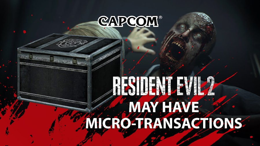 resident evil 2 remake micro transactions