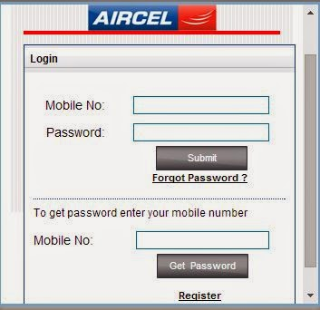 Aircel dialer tune register online to change easily