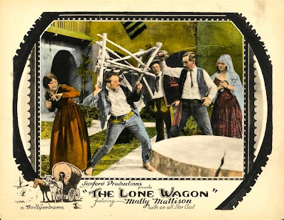 Lone Wagon The 1923