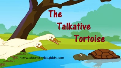 The Talkative Tortoise Short Story with pictures and PDF