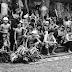 Geret pandan (perang pandan) Desa Tenganan, bentuk sportifitas warisan leluhur Bali