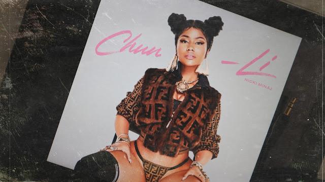 "Nicki Minaj - réinvente la super-héroine ""Chun-Li"" sur la pochette de son nouveau single"