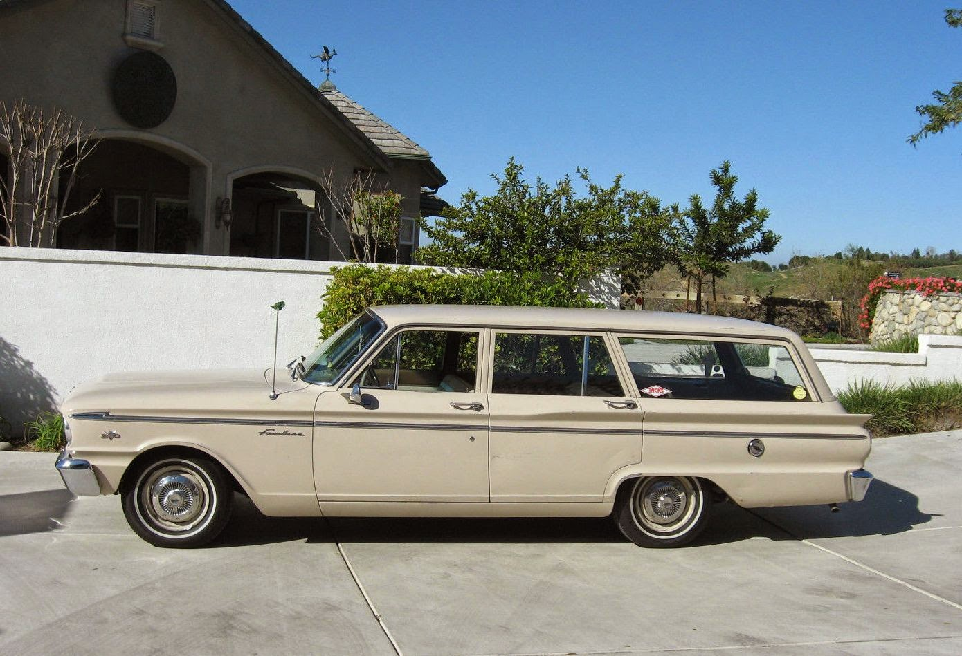 All American Classic Cars: 1963 Ford Fairlane 4-Door Ranch Wagon