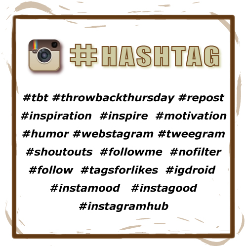 Most Popular Instagram Hashtags: 50+ Trending Instagram Hashtags