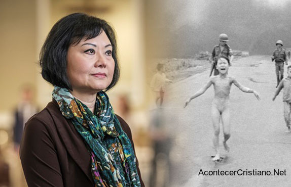 Kim Phúc, sobreviviente de la Guerra de Vietnam