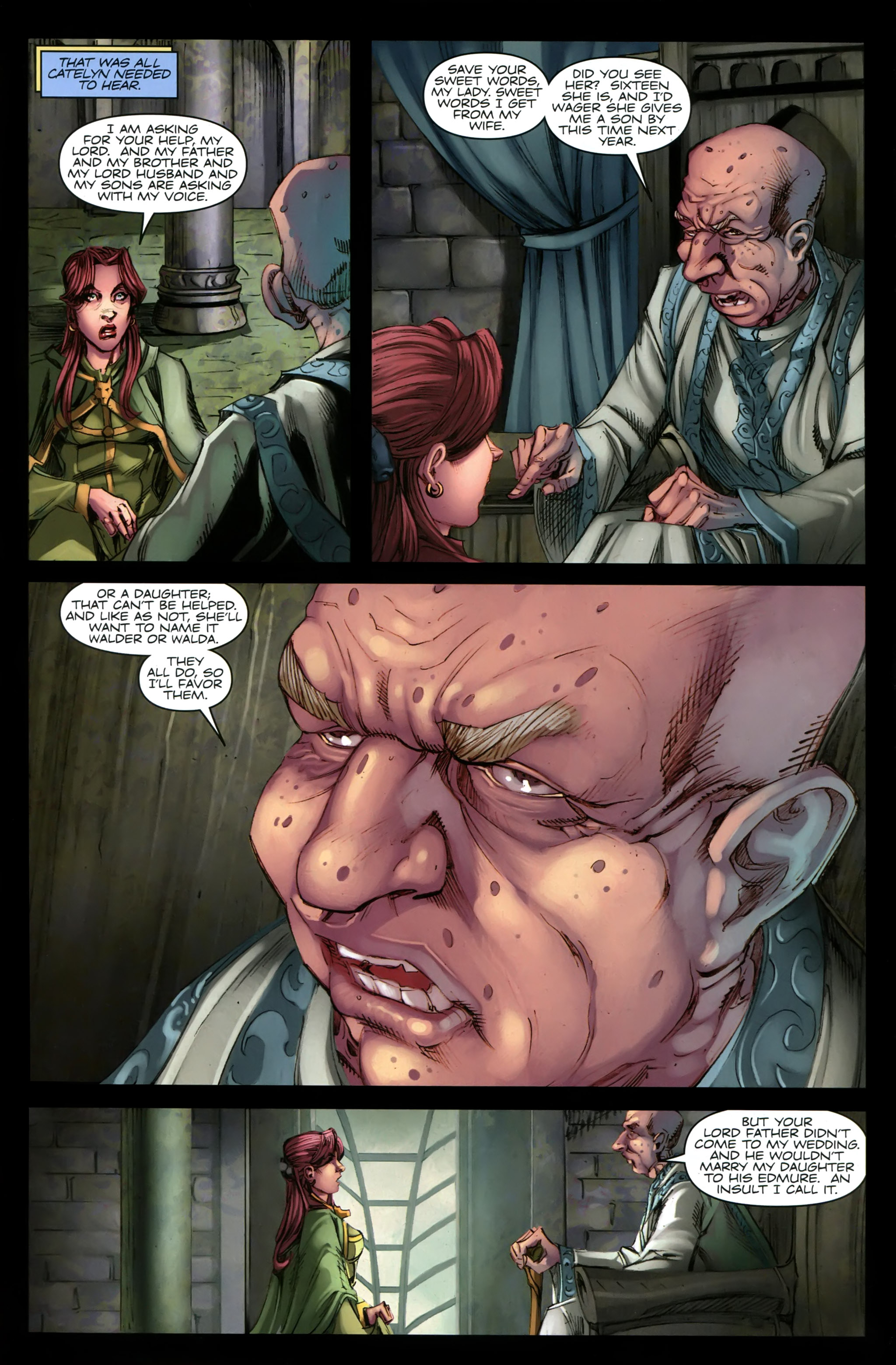 Read online A Game Of Thrones comic -  Issue #19 - 25